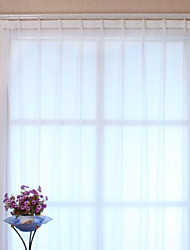 cheap -Two Panels Curtain Modern, Print Solid Polyester Material Sheer Curtains Shades Home Decoration