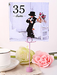 cheap -Square Table Number Card - Playmates (Set fo 10) Wedding Reception