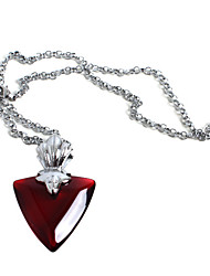 Jewelry Inspired by Fate/stay night Rin Tohsaka Anime Cosplay Accessories Necklace Red Female