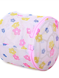 cheap -Flower Pattern Bra Nursing Laundry Bag