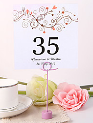 cheap -Place Cards and Holders Personalized Square Table Number Card - Branch (Set fo 10)