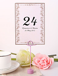 cheap -Personalized Table Number Card - Classic