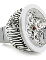 gu5.3 (mr16) led spotlight 4 high power led 360lm naturlig hvid 5000k dc 12v
