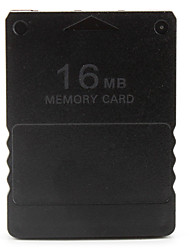 cheap -16MB Memory Card for PS2 (Black)
