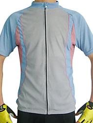 Per uomo T-shirt da escursione Asciugatura rapida Traspirante Maglietta/Maglia Top per Ciclismo/Bicicletta Primavera Estate S M L XL XXL-