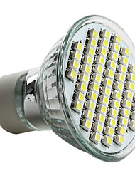 cheap -6000lm GU10 LED Spotlight MR16 60 LED Beads SMD 3528 Natural White 220-240V