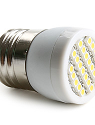 1.5W E26/E27 LED Spotlight 24 SMD 3528 120-150lm Warm White 2800K AC 220-240V