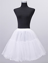 cheap -Wedding Special Occasion Slips Nylon Tulle Netting Short-Length A-Line Slip With