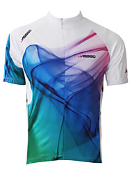 cheap -Jaggad Cycling Jersey Men's Short Sleeve Bike Jersey Tops Quick Dry Breathable Polyester 100% Polyester Stripe Spring Summer Cycling/Bike