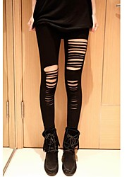 Women's Cut Out Sexy Strip Leggings
