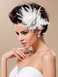 cheap -Women's Tulle Headpiece-Wedding Special Occasion Fascinators