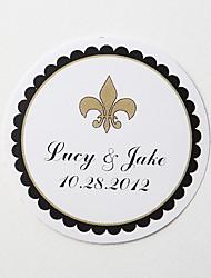 Hochzeits-Einladungen 36-Umschlag-Aufkleber