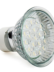 1.5w gu10 led spotlight mr16 18 haute puissance led 60-80lm blanc chaud 2800k ac 220-240v 1pc