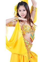 dança desgaste vestuário feminino desempenho chiffon elegante vestido clássico