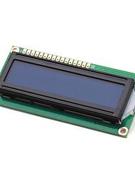 abordables -électronique de bricolage (pour Arduino) lcd module 1602, blanc sur fond bleu avec rétro-éclairage