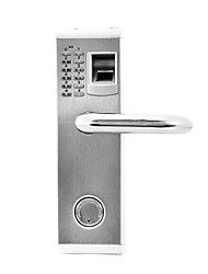 cheap -3-in-1 Biometric Fingerprint and Password Door Lock with Deadbolt (Right Handed)