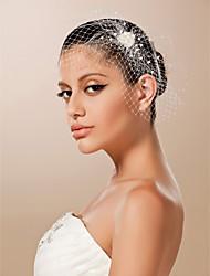 economico -Tulle fascinators / Cappelli con Fantasia floreale 1pc Matrimonio / Occasioni speciali Copricapo