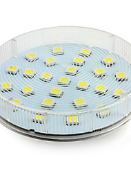 4W GX53 LED Spotlight 25 SMD 5050 180-250lm Natural White 6000K AC 220-240V