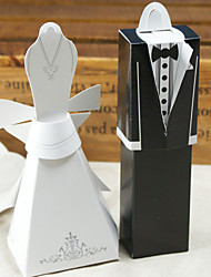 cheap -Cuboid Card Paper Favor Holder With Favor Boxes-12 Wedding Favors