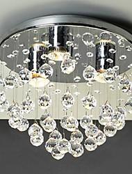 povoljno -QINGMING® Flush Mount Ambient Light - Crystal Mini Style, Modern / Comtemporary, 110-120V 220-240V Bulb Included
