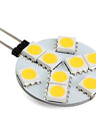 1w g4 führte Bi-pin Lichter 9 SMD 5050 100lm warmweiß 2800k