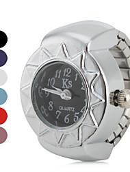 Недорогие -Жен. Часы-кольцо Японский Повседневные часы сплав Группа Винтаж Серебристый металл