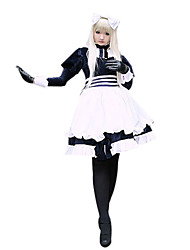 cheap -Inspired by Hetalia White Russia Natalia Alfroskaya Anime Cosplay Costumes Cosplay Suits Patchwork Long Sleeves Dress For Female
