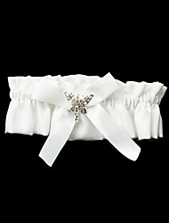 cheap -Polyester Satin Wedding Garter with Bowknot Wedding AccessoriesClassic Elegant Style