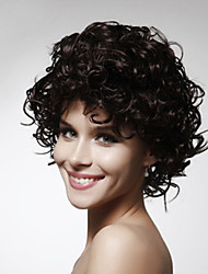 Capless Short High Quality Synthetic Curly Hair Wig Multiple Colors Available