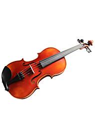 Недорогие -violintine - (v22) 3/4 профессионального уровня твердых елей и 1-часть пламени клен скрипки с случай / лука