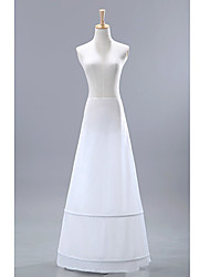 Wedding Special Occasion Slips Nylon Floor-length A-Line Slip With