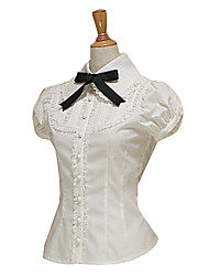 cheap -Sweet Lolita Dress Sweet Lolita / Lolita Women's Blouse / Shirt Cosplay Short sleeves / Short Sleeve Lolita
