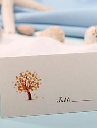 baratos -cartões de papel de papel 12 sacos de pvc convidados de casamento recepção de casamento
