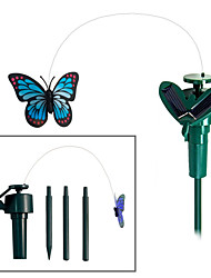 cheap -Solar Powered Flying Fluttering Monarch Butterfly for Garden Plants