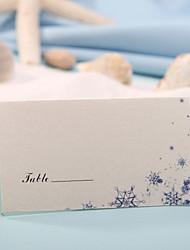 sted kort og holdere sted kort - sne (sæt af 12) bryllup modtagelse