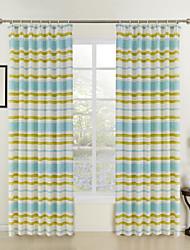 abordables -cortina (dos paneles) niños llamativa impresión moderna