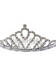 rhinestone zliatiny tiaras headpiece elegantní klasický ženský styl