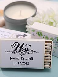 Cartão de Papel Duro Decorações do casamento Tema Clássico
