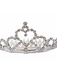 preiswerte -gorgeous tschechisch Strass Hochzeit Braut Diadem
