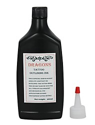 cheap -Black Tattoo Inks 360ml