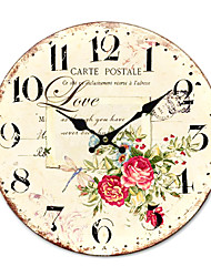 Недорогие -Страна цветочные часы стены