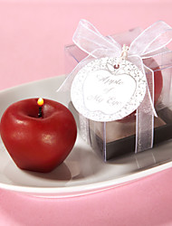 Apple Mini-Candle The Wedding Stoer Classic Theme Wedding & Party Accessories
