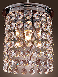 cheap -Max 40W Modern/Contemporary Crystal / Mini Style / Bulb Included Electroplated Pendant LightsLiving Room / Dining Room / Study