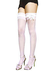 cheap -Socks / Long Stockings Classic Lolita Dress Lolita Lolita Casual Lolita Women's Lolita Accessories Lace Stockings Nylon