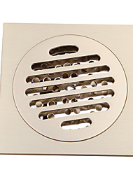 cheap -Bathroom Accessory Antique Brass Finish Solid Brass Floor Drain-LK-1046
