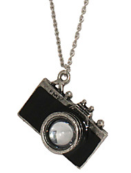 cheap -Men's Pendant Necklace - Camera Black, Red Necklace For Christmas Gifts, Daily