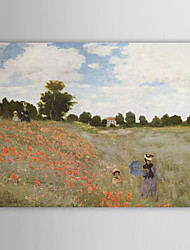 cheap -Oil Painting Hand Painted - Famous Landscape Comtemporary Canvas
