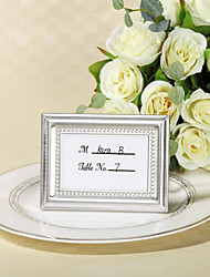 cheap -Zinc Alloy Place Card Holders Frame Style Gift Box