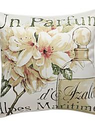 pastoral lilje print dekorative pudebetræk