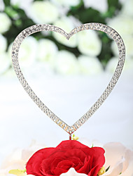 """cheap -Cake Toppers """"Loving You With All My Heart"""" Rhinestone  Cake Topper (More Sizes)"""